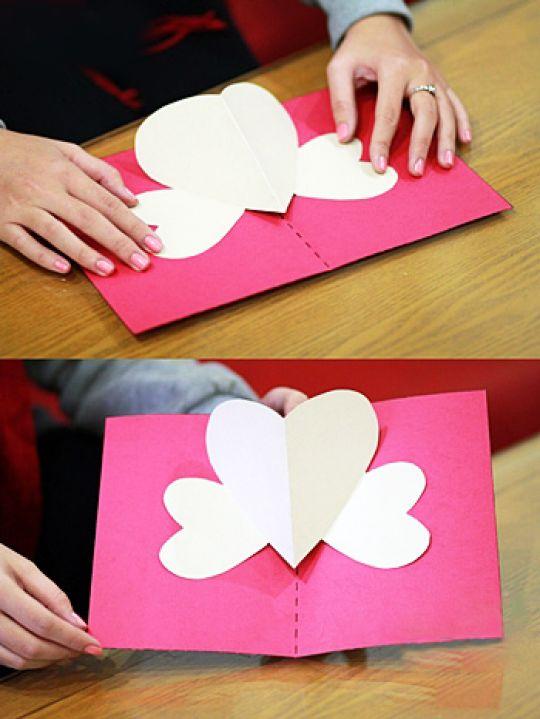 ... membuat kartu valentine buatan anda sendiri tanpa harus membeli. Happy