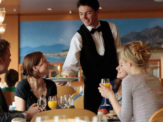 di tempat penyedia makanan seperti restoran. Untuk caranya, anda dapat