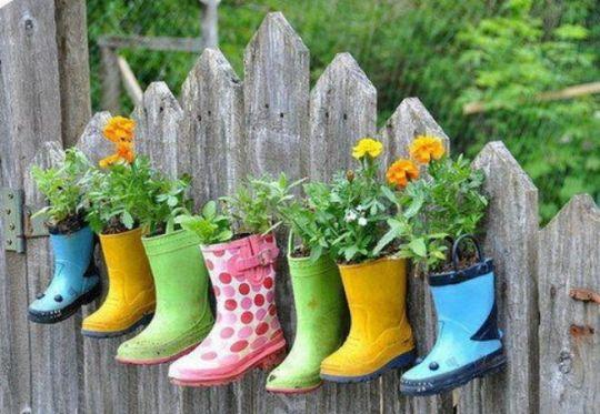 Membuat Pot Bunga Unik Dari Sepatu Bekas Tutorial Lain Lain Kesekolah Com