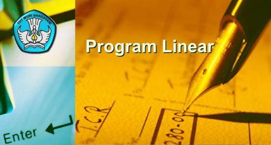 Pengertian Program Linear Dan Model Matematika Sma Kelas Xi Tutorial Matematika Kesekolah Com