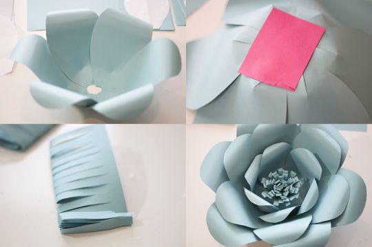 Bunga Unik Dari Kertas Karton Tutorial Lain Lain Kesekolah Com