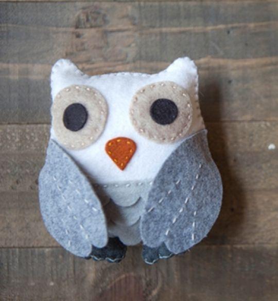 Membuat Boneka Burung Hantu Dari Kain Flanel Tutorial Lain Lain
