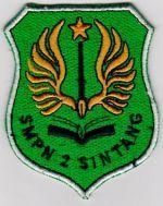 logo smpn 2 sintang