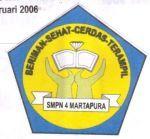Logo SMPN 4 Martapura