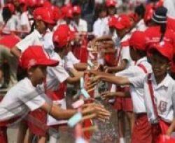 1 Juta Anak Indonesia Serentak Cuci Tangan