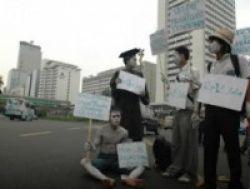 Mahasiswa Malang Tuntut Hak Asasi Pendidikan