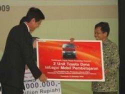 Toyota Sumbang Dua Unit Truk Dyna Buat Pendidikan
