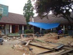 Rehab Gedung Sekolah di Jaksel Molor