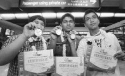 Selamat... 3 Siswa Indonesia Raih Emas dan Perak!