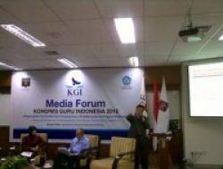 Besok, Kongres Guru Digelar di Jakarta