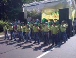 Ratusan Siswa Ramaikan Jakarta Green School