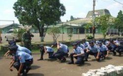 522 Siswa SMK Berlomba Bela Negara