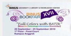 Waaah... ke Binus Book Fair XVII, Yuk!