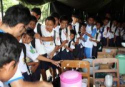 Takut Merapi Meletus, Ratusan Siswa Enggan Sekolah