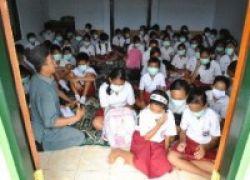 Anak Korban Merapi Dititipkan di Sekolah Terdekat