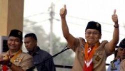 Wakil Presiden Dorong Pramuka Masuk Pesantren