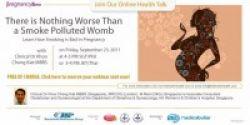 Ikuti Seminar Online: Bahaya Merokok Saat Hamil!