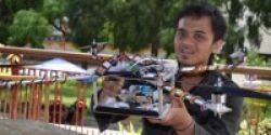 Robot Karya Mahasiswa UGM Bisa Deteksi Korban Bencana