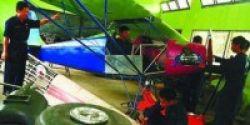 Siswa SMK 29 Jakarta Rakit Pesawat Terbang