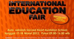 International Education Fair - Aula Sekolah Sacred Heart Australian School