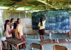 Berprestasi di Gedung Sekolah Reyot