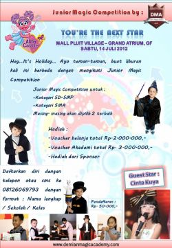 Demian Magic Academy Junior Magic Competition