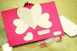 Yuk Buat Kartu Valentine Unik Ini
