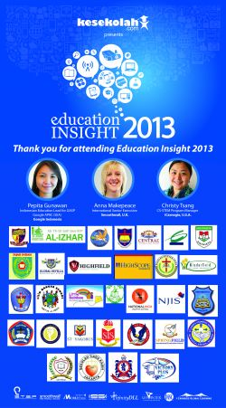 Thank You to All Education Insight 2013 Participants