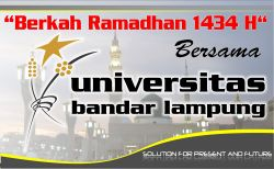 Berkah Ramadhan UBL 2013 di Facebook dan Twitter