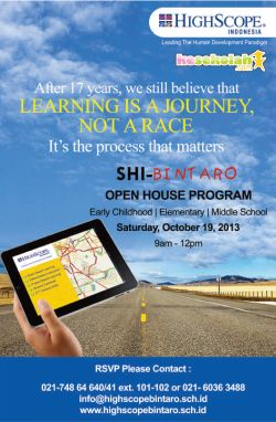 Open House Highscope Indonesia-Bintaro