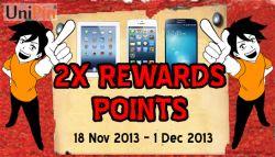 Sambut Skema Baru, Unipin Hadirkan Double Rewards Point Event!