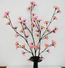 Yuk Buat Bunga Sakura dari Sedotan!