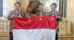 4 Pelajar Indonesia Raih Medali Olimpiade Kimia di Rusia