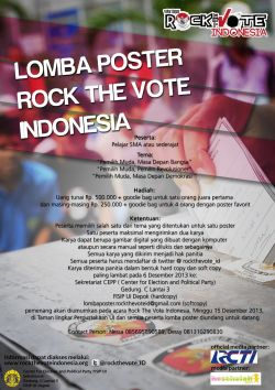 Rock The Vote Indonesia
