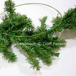 Cara Membuat Wreath Natal Sederhana