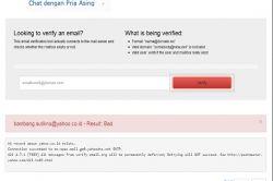 Cara Mudah Mengetahui Benar atau Tidaknya Suatu Alamat email