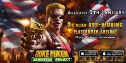 Duke Nukem: Manhattan Project Sudah Hadir di App Store