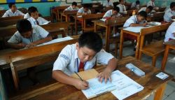 Lulusnya Siswa Sekolah Dasar Ditentukan oleh Hasil Ujian Sekolah