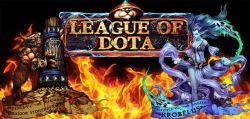 Bermain Card Battle Bersama Hero Khas Dota di League of Dota