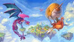Latih Nagamu dan Kalahkan Naga Lainnya di Dragons World