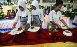Percontohan SMKN Kudus sebagai Sekolah Kuliner