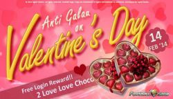 Football Saga 2 Indonesia Hadirkan Event Valentine Love Choco!