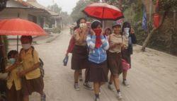 Sekolah di Solo Diliburkan Sebab Abu Vulkanik Menebal