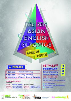 The 2014 Asian English Olympics