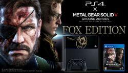 Bundling Metal Gear Solid V: Ground Zeroes Fox Edition untuk Playstation 4 Diungkap