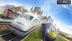 DLC Terbaru Train Simulator 2014 Menambahkan Devon Coast dan Canadian Route