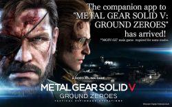 Konami Rilis Aplikasi Pendamping Metal Gear Solid V: Ground Zeroes untuk Mobile iOS dan Android