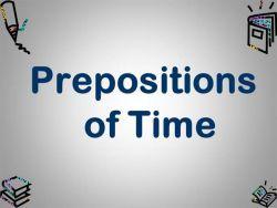 Preposisi in dan on dalam Keterangan Waktu