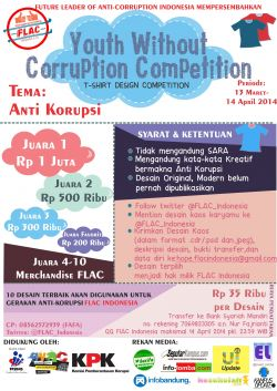 Youth without Corruption Competition