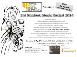A Time for 3rd Student'S Music Recital 2014
